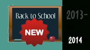 Noutati in anul scolar 2013-2014