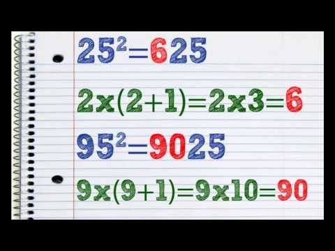 Operatii matematice rapide