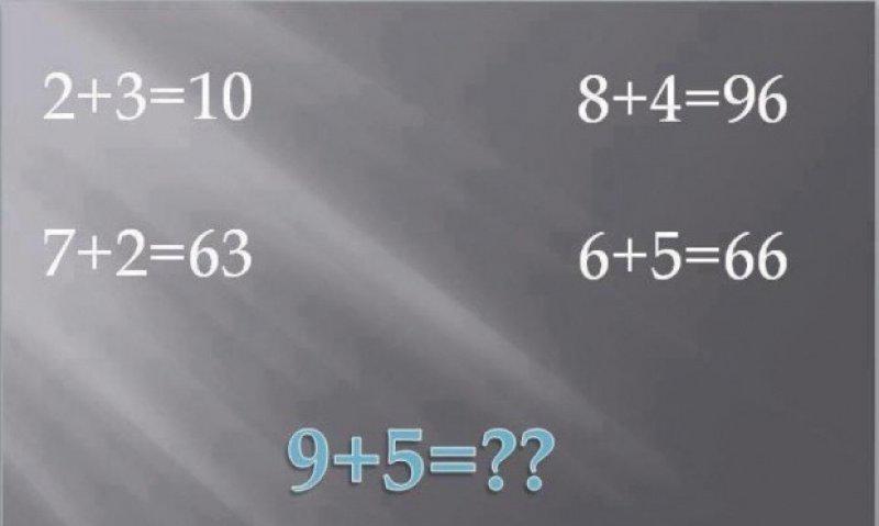 Probleme distractive – 9+5=?