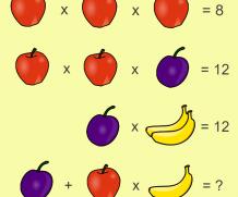 Puzzle matematic
